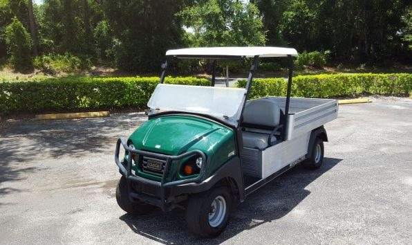 Pre-Owned New Arrival Highlights – Used 2015 Club Car Carryall 700 Electric