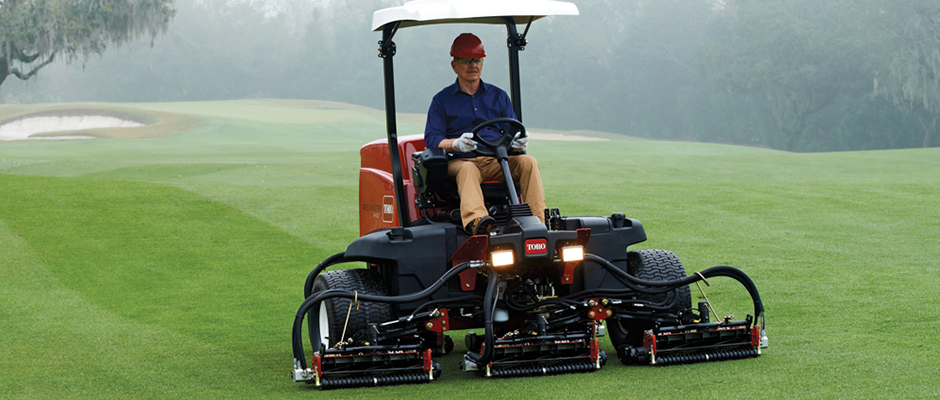 Our very first batch of low hour used Toro Reelmaster 5010-H fairway units!!!